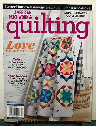 American Patchwork & Quilting Magazine Star Blocks Projects April 2019
