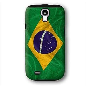 Brazil Brazilian Flag Samsung Galaxy S4 Armor Phone Case