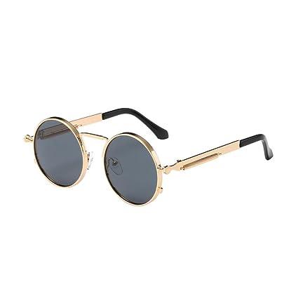 Amazon.com: Jiayit Gafas de sol redondas para mujer, gafas ...