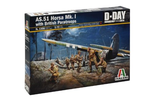 2 opinioni per Italeri 1356- As-51 Horsa Mk.I W/British Paratroopers Model Kit Scala 1:72