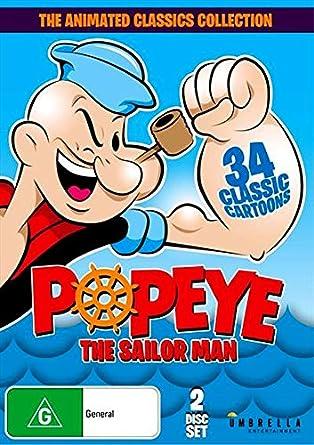 Amazon Com Popeye The Sailor Man The Animated Classics Collection