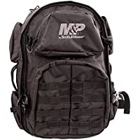 Smith & Wesson M&P Pro Tac Large Backpack with Weather Resistance, Ballistic Fabric Construction and MOLLE for Hunting, Range, Travel and Sport