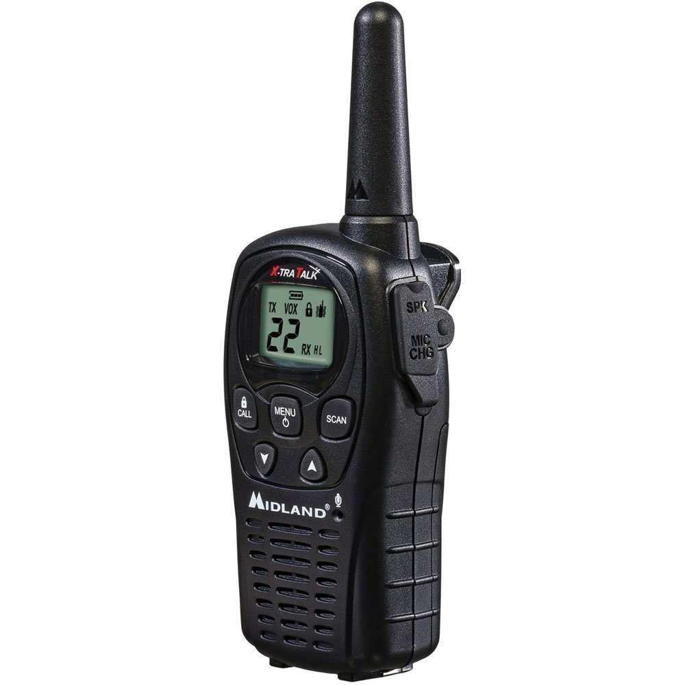 GMRS 2-WAY RADIO 24MILE (Pkg of 5)