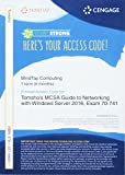 img - for MindTap Networking, 1 term (6 months) Printed Access Card for Tomsho's MCSA Guide to Networking with Windows Server 2016, Exam 70-741 book / textbook / text book