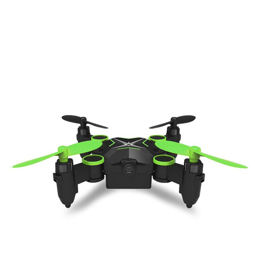 de moda verde verde verde WANGKM Avión de Control Remoto Mini avión no tripulado Plegable Pista Vuelo Control de Voz Modo sin Cabeza Fijo Alto Avión de Cuatro Ejes Aéreo Boy Juguete  tienda en linea