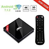 [ Android 7.1 Smart TV BOX ] H96 Pro 3GB 32GB TV BOX Amlogic S912 Octa-core UHD 4K Mini PC with Dual Band 2.4G/5G WIFI BT4.1 1000M Ethernet