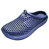 IVAO Unisex Garden Clog Shoes Sandal Quick Drying Navy 8 B(M) US Women/7 D(M) US Men