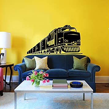 Train Wall Decal Locomotive Wall Decals Vinyl Sticker Home Interior Wall  Decor For Any Room Housewares
