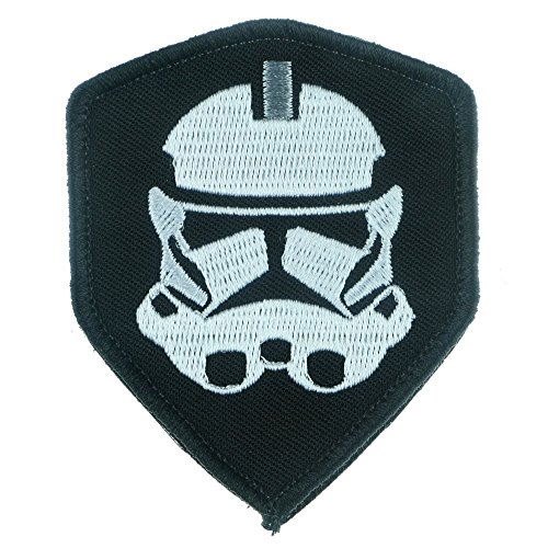 Iron Sew on Applique Patch : Star Wars Clone Trooper (Art Attack Crafts Halloween)