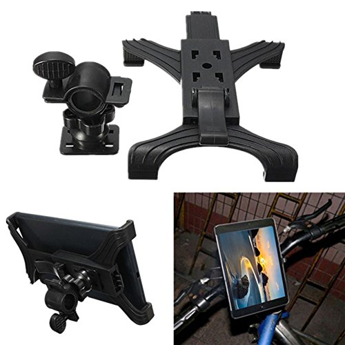Bicycle Bracket,Woopower Universal Adjustable Bike Motorcycle Bracket,Mount Travel Lazy Holder for 7 inch to 10 inch tablets