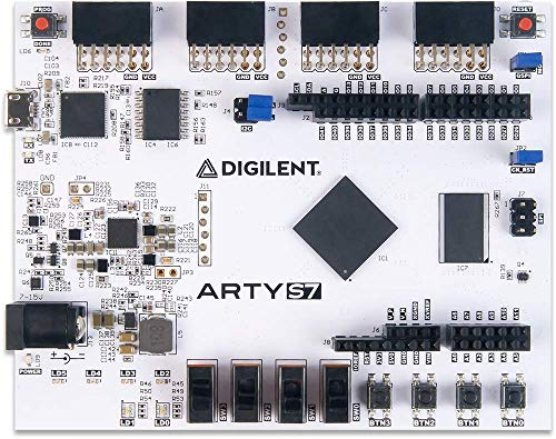 Digilent Arty S7: Spartan-7 FPGA Board for Makers and Hobbyists (Arty S7-25)