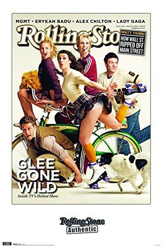 Trends International Rolling Stone Magazine - Glee 10 Wall Poster, 22.375' x 34', Multi