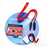 2in1 IDE HDD to SATA Hard Drive Serial ATA 1.5Gbp Speed Converter 100/130