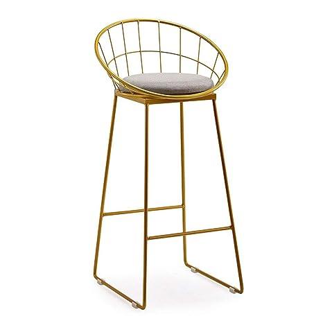 Pleasant Amazon Com Metal Bar Stool Unadjustable Height Bar Stool Customarchery Wood Chair Design Ideas Customarcherynet
