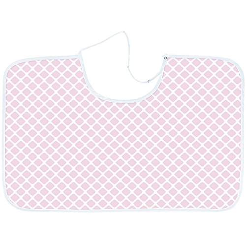 Kushies Baby Nursing Canopy, Pink Lattice N915-584