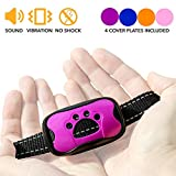Dog Bark Collar For Small Medium and Large Breeds by Wrooof - Best For Excessive Barking, Adjustable Sound and Vibration, Extra Safe And Humane Anti Bark Training Device - No Shock No Spiky Prongs