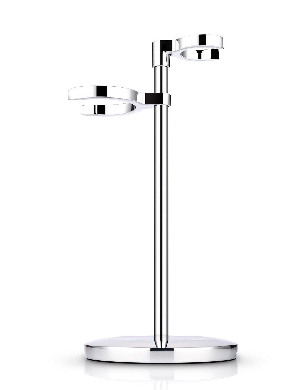Miusco Slim Shaving Razor & Brush Stand, Compatible with Manual Razor, Gillette Fusion, Mach 3, FlexBall ¡