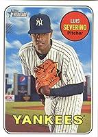 2018 Topps Heritage #303 Luis Severino New York Yankees Baseball Card