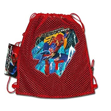 Amazon.com: (20 count) SPIDER-MAN Sling Tote Bag - PARTY FAVORS ...