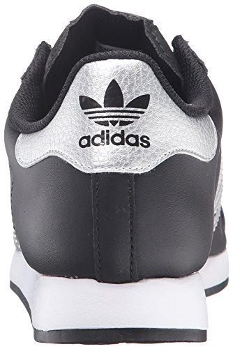 adidas Originals Herren Samoa Retro Sneaker Schwarz / Metallic / Silber / Weiß