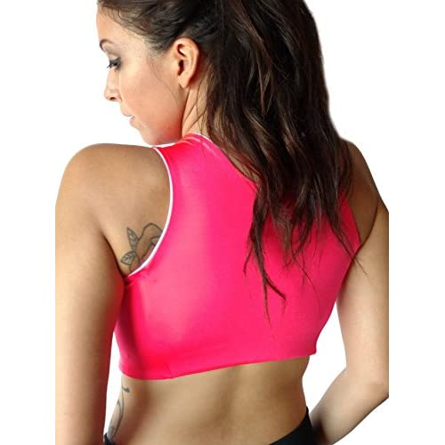 7faff7753cf45 Brilliant Contours Post Surgical Comfort Compression Sports Bra  Hot Pink  Dragonfly low-cost