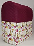 7 quart proline - Penny's Needful Things Wine Bottles Cover Compatible for Kitchenaid Stand Mixer (Burgundy, 7qt Proline/8qt Commercial)