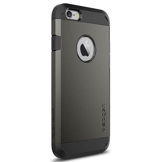 8fc9ad377f5 spigen Funda iPhone 6s, [Tough Armor] Protección Extrema de Servicio Pesado  y tecnología de cojín de Aire para iPhone 6s / iPhone 6: Amazon.es:  Electrónica
