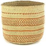 Handmade Fair Trade Woven African Basket