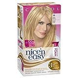 blonde hair dye foam - Clairol Nice 'n Easy Foam Hair Color 10 Extra Light Blonde 1 Kit