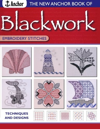Blackwork Design - New Anchor Book of Blackwork Embroidery Stitches