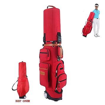 Bolso Rojo del Club de Golf - Polea Multifuncional Bolsa de ...