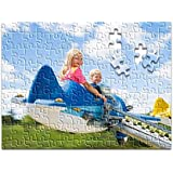 """RitzPix Customizable Puzzle – Perfect Personalized Gift with Custom Image or Text – Choose 8"""" x 10"""" (30 Pieces) or 11"""" x 14"""" (130 pieces) - Both sizes includes 5x7"""" print"""