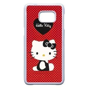 Samsung Galaxy S6 Edge Plus phone case White Hello-Kitty TPP9685313