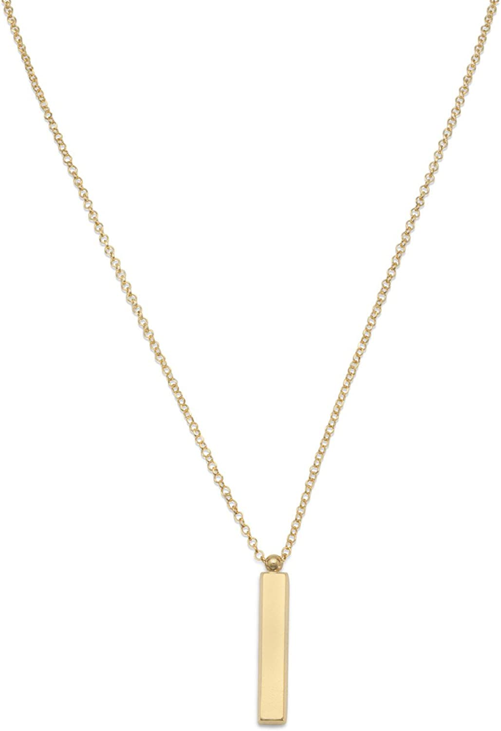 925 Sterling Silver Polished Spring Ring Rhodium-plated and Gold-Flashed Nov Cubic Zirconia Key 18inch Necklace