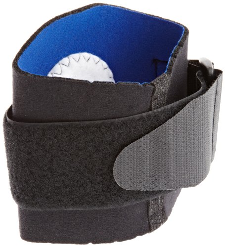 500 Tennis Elbow Support (Scott Specialty 3410-15-500 Latex Free Neoprene Tennis Elbow Support with Strap, Large)