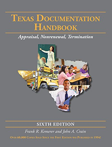 Texas Documentation Handbook: Appraisal, Nonrenewal, Termination