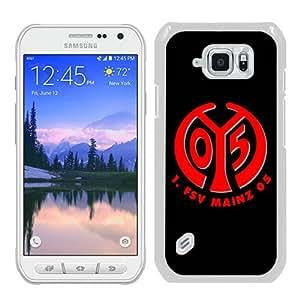 FSV Mainz 05 Logo White Fashion Unique Custom Samsung Galaxy S6 Active Case
