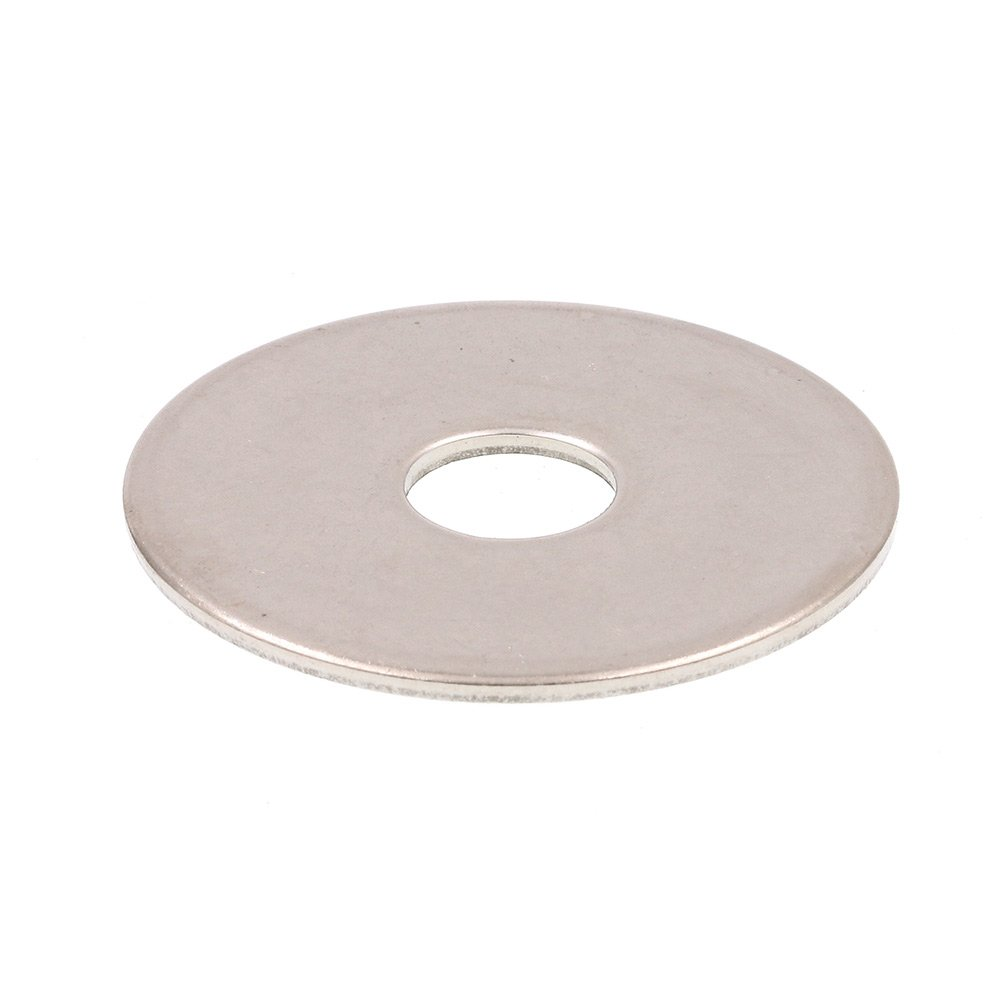 Prime Line 9081507 Fender Washers 3 8 in. X 1 1 2 in. OD Grade 18 8 Stainless Steel 50 Pack