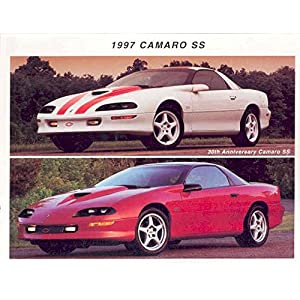 1997 Chevrolet Camaro SS 30th Anniversary Brochure