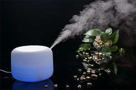 Amazon.com: flymei 500 ml Aroma Aceite esencial difusor ...