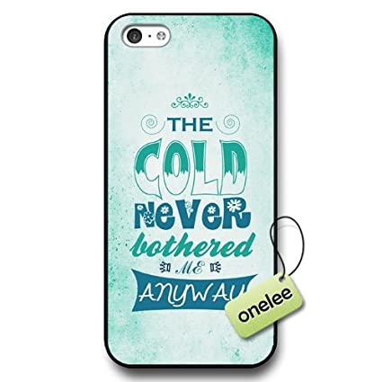 Amazon.com: Disney Frozen Quotes Hard Plastic Phone Case ...