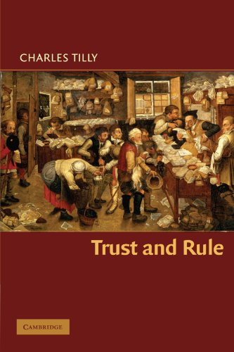 Trust And Rule  Cambridge Studies In Comparative Politics
