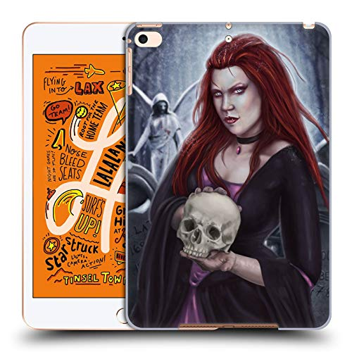Official Tiffany Tito Toland-Scott Woman with Skull Vampire and Werewolves Hard Back Case Compatible for iPad Mini (2019) -