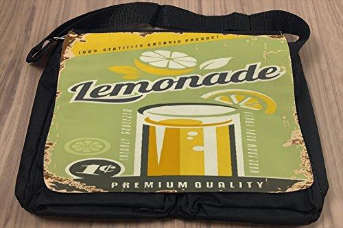 Borsa Tracolla Nostalgico limonata Stampato