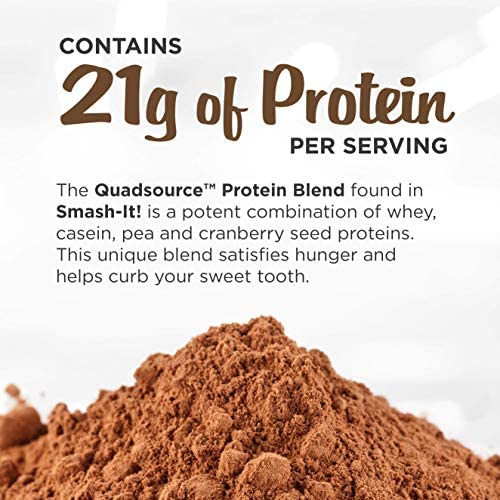 Primal Labs Smash-It! Nutrient Infused Low Carb Protein Powder for Weight Loss, Keto Meal Replacement Shake Powder, Gluten-Free Whey Protein Powder, Delicious Chocolate Flavor, 780 Grams 9