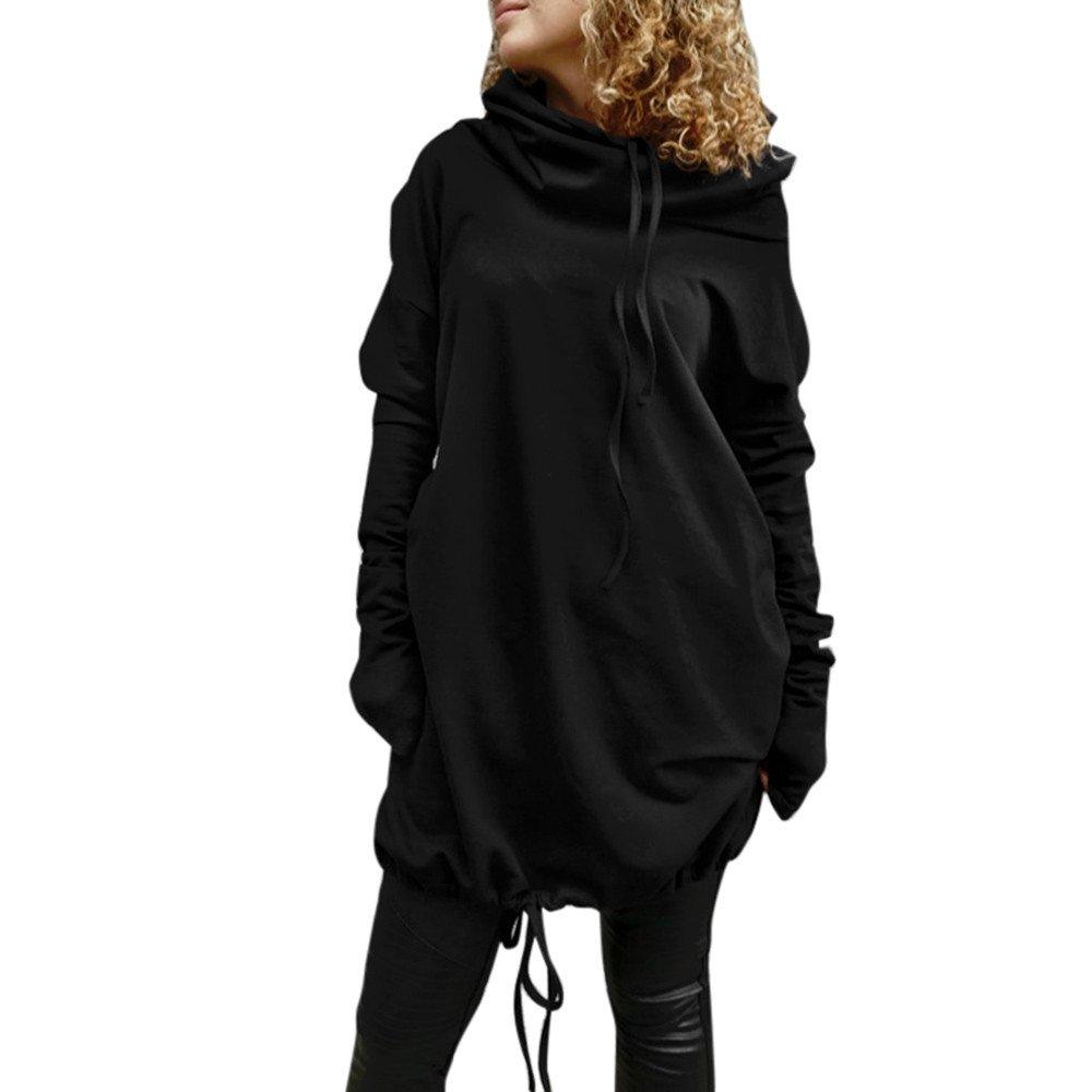 Yajiemen Women Casual Long Sleeve Pullover Blouse Shirts Sweatshirt