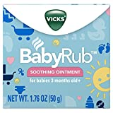 Vicks BabyRub Soothing Chest Rub Ointment, 1.76 Oz (Pack of 6)