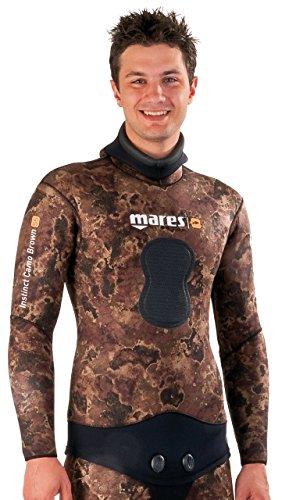 Mares Instinct Camo Brown 70 Open Cell - Chaqueta unisex, color marrón