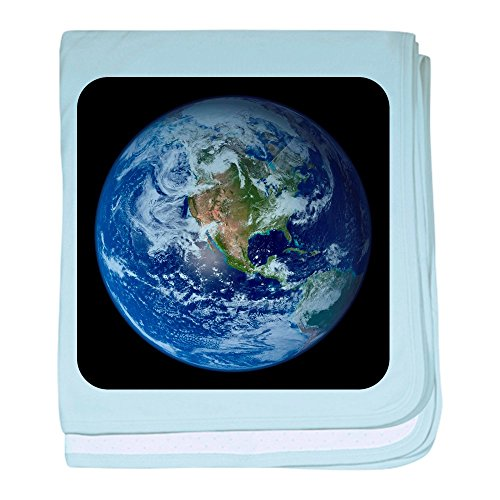 Price comparison product image Royal Lion Baby Blanket Planet Earth The World - Sky Blue