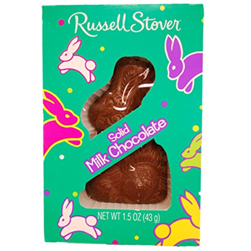 Russell Stover Easter Solid Milk Chocolate Bunny 1.3 Oz (3 ()